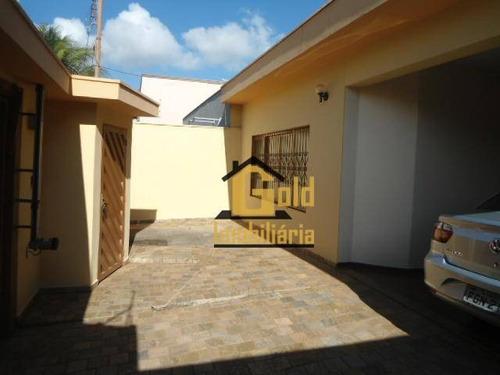 Casa Com 3 Dormitórios À Venda, 172 M² Por R$ 450.000,00 - Nova Ribeirânia - Ribeirão Preto/sp - Ca0535