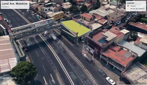 Local Comercial En Venta. Avenida De Los Maestros, Tlalnepantla. 214 Metros. Uso De Suelo Comercial/