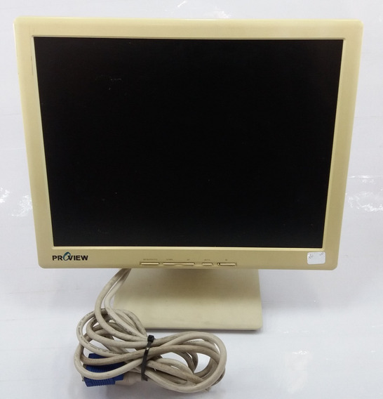Monitor Cristal Liq. 15 Polegadas Proview Uk 513 (c/ Risco)