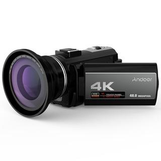 Andoer Portátil 4k 48mp Wifi Digital Vídeo Cámara