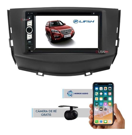 Central Multimídia Dvd Lifan X60 Tv Bluetooth Câmera De Ré