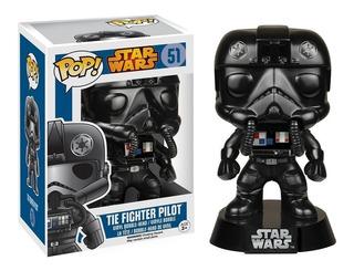 Funko Pop Stars Wars Rey / Snowtrooper / Tie Fighter Pilot