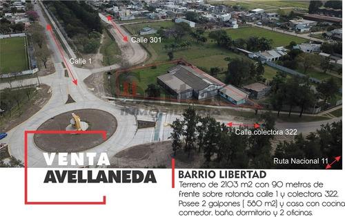 Terreno Y Galpón En Venta Barrio Libertad Avda. Santa Fe