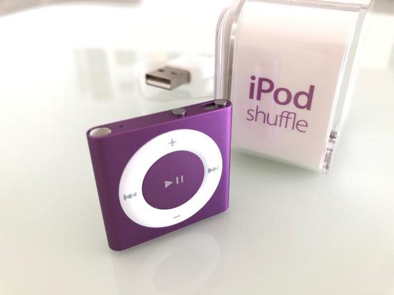 iPod Shuffle Roxo 2gb