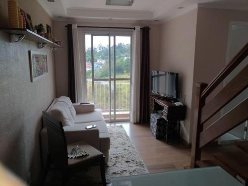 Imagem 1 de 15 de Cobertura Para Venda Em Cajamar, Panorama (polvilho), 2 Dormitórios, 1 Banheiro, 1 Vaga - _1-1908712