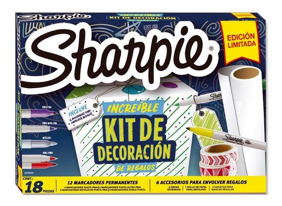 Pack Sharpie Decoracion Regalos 18 Piezas Edicion Limitada