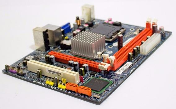 Placa Mãe Ecs G41t-m7 Ddr3 + Intel Dual Core