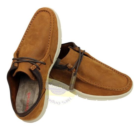 Sapato Casual Masculino Ferricelli Couro 100% Original + N F