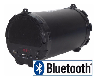 Parlante Bluetooth Portable Nisuta 15w Rms Fm Usb Sd Aux