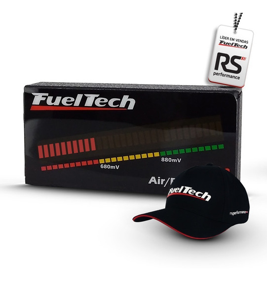 Fueltech Digital Air Fuel Meter - Hallmeter + Kit Brindes