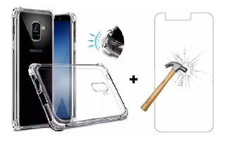 Capa Anti Impacto Shock S10 Plus Samsung Com Película Grátis