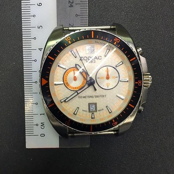 Suizo Original. Reloj Zodiac Speed Dragon Zo5523.