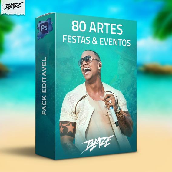 Pack 80 Artes Festa E Evento Editável Photoshop Psd Vol.02