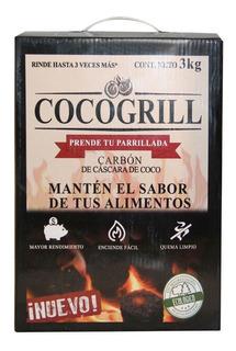 Briquetas De Carbón Cocogrill Libre De Quimicos 100% Ecologi