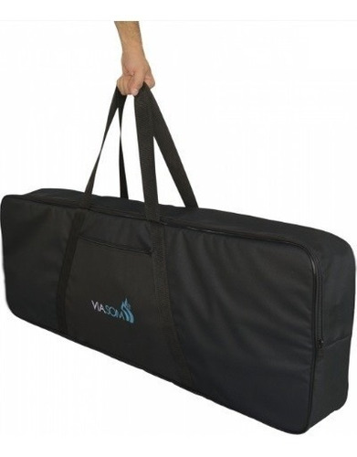 Capa Grande P/ Teclado Piano 6/8 Soft Bag Med. 130x44x16cm