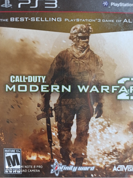 Call Of Duty Modern Warfare 2 Ps3 , A Pronta Entrega