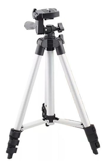 Tripé Suporte Profissional P/ Câmeras E Celulares Até 1,0m