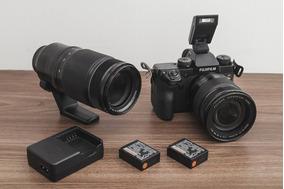 Kit Fuji X-h1 + 16-55mm 2.8 + 50-140mm 2.8 + 3 Baterias
