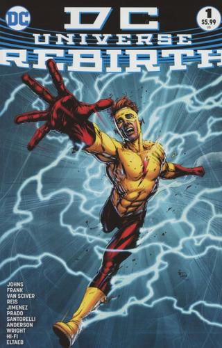 Dc Universe Rebirth #1 (2016) Dc Comics