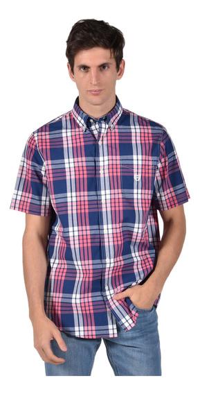 Camisa Classic Fit Chaps Azul 750703717-30cx Hombre