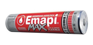 Membrana Asfaltica Aluminio Emapi Max Flexible 40kg W450 - Prestigio