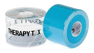 Bandagem Elástica Adesiva (5m X 5cm) Therapy Tex - Azul