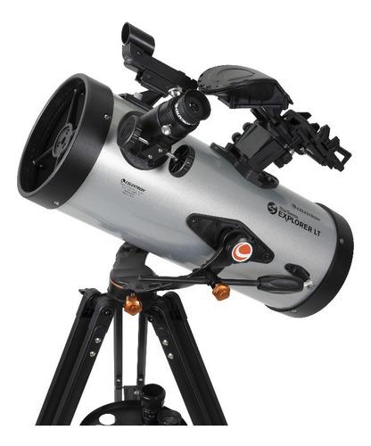 Telescópio Celestron Com Autoguide Smartphone Explorer 127