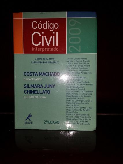 Código Civil Interpretado 2009 Frete Grátis!