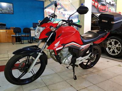 Honda Cg Fan 160 2017 Vermelha - Fan 160 Vermelha 2017 Honda