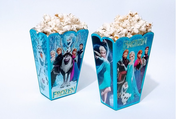 Frozen 50 Cajas Palomeras Botaneras Articulos De Fiesta