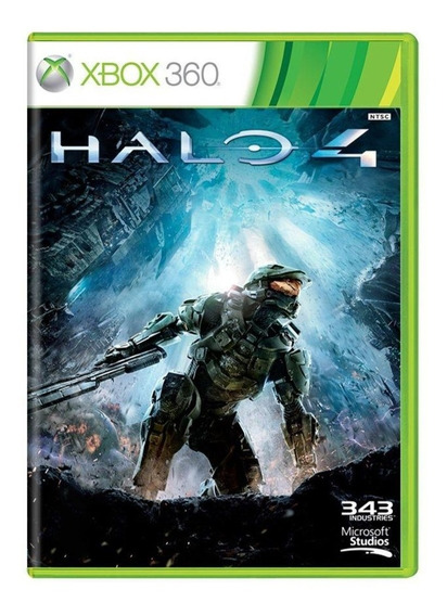 Jogo Game Halo 4 Xbox 360 Mídia Física Cd Duplo