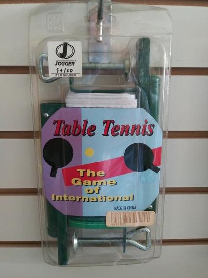 Juego De Para Y Malla Ping Pong Joggee 3 Estrellas