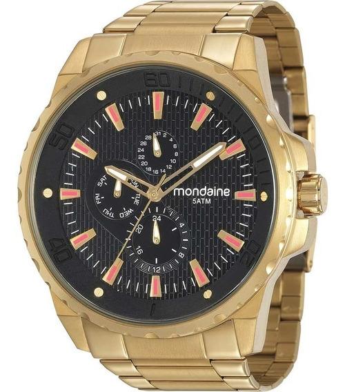 Relógio Mondaine Masculino Original Garantia 99224gpmvda2