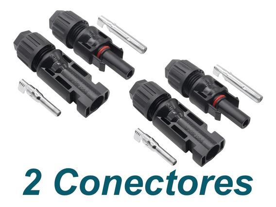 Conector Mc4 Para Painel Solar - 2 Conectores