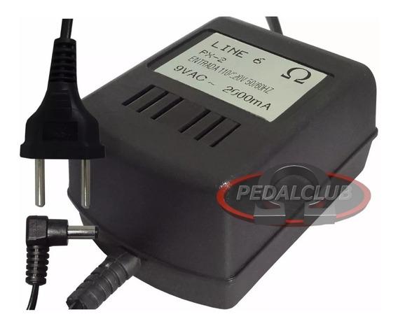 Fonte Pedal Pedaleira Line 6 Px-2 Pod X3 Xt Live Dl4 Variax