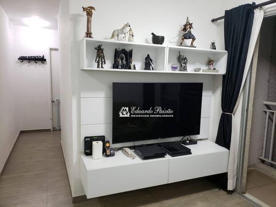 Apartamento Com 2 Dormitórios À Venda, 55 M² Por R$ 300.000,00 - Parque Cecap - Guarulhos/sp - Ap0042