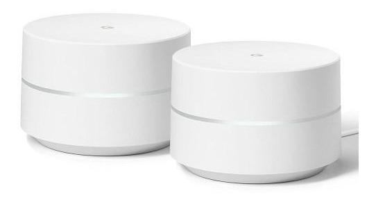 Combo 2 Roteadores Google Wifi Mesh Dual Band Novo Vitrine