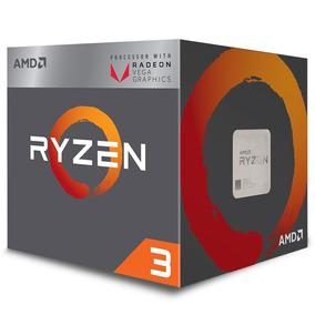 Processador Amd Am4 R3-2200g Ryzen Quadcore 6mb Cache 3,7ghz