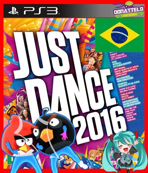 Just Dance 2016 Ps3 Psn Portugues Br Danca Ps3