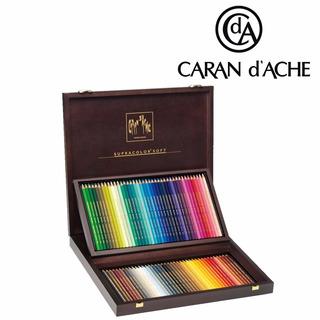 Lápis Aquarelável Caran Dache Supracolor 80 Estojo Madeira