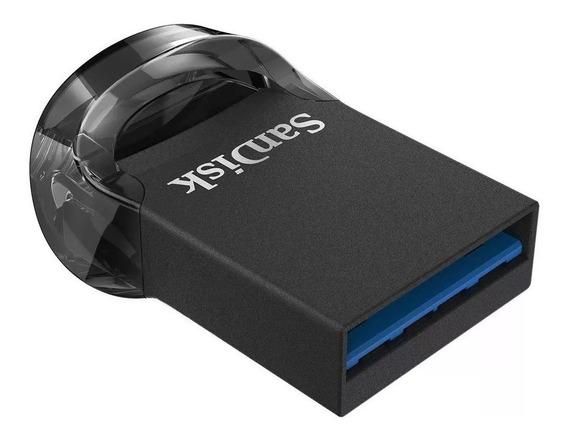 Mini Pen Drive 64gb Sandisk Ultra Fit Usb 3.1 130mbs Samsung Macbook Pro Vaio Hp Compaq Notebook Dell Asus