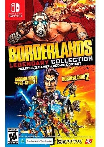 ..:: Borderlands Legendary Collection ::.. Para Switch En Gc