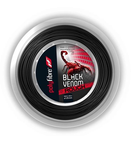 Rollo Cuerda Tenis Polyfibre Black Venom Rough