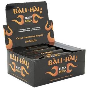 Carvão Discos Narguile Bali Hai Acende Rápido 100 Carvões