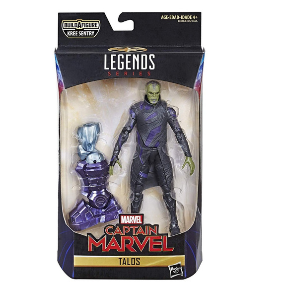 Marvel Legends Captain Marvel Wave 1 Talos - Baf Kree Sentry