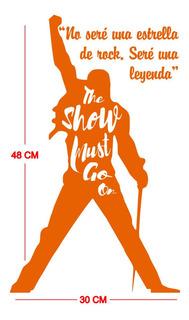 Vinil Sticker Decorativo Queen Leyenda 30 X 48 Cm