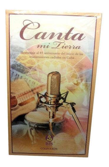 Canta Mi Tierra Bis Music Original Lacrado Coleção Com 4 Cds