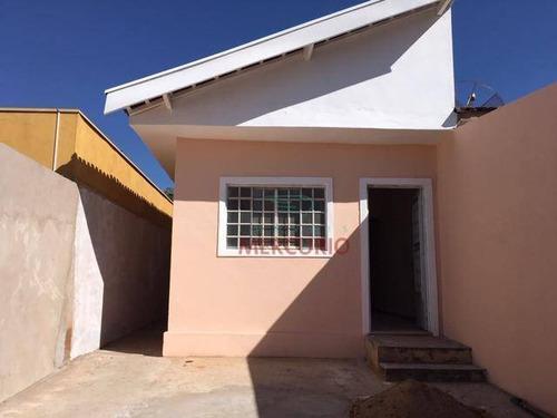 Imagem 1 de 7 de Casa Com 1 Dormitório À Venda, 70 M² Por R$ 198.000,00 - Jardim Tv - Bauru/sp - Ca3331