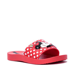 Chinelo Infantil Feminino Ipanema Slide Disney Minnie