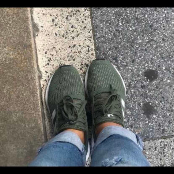 Tênis Swift Run adidas Verde Militar Original